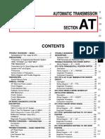 Manual Mecánico de Nissan pathfinder 2004 - transmision automatica