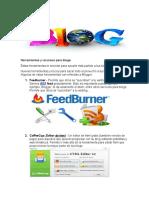 Herramientas y Recursos Para Blogs EXAMEN FINAL