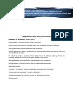 Curs Comunicare Profesionala - Lectia 4
