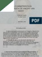 Vida y Características Psicológicas de Vincent Van Gogh