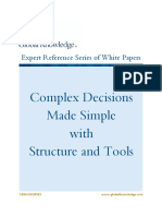 Wp Complex Decisions Made Simple With Structure and Tools