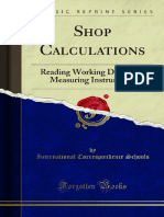 Shop Calculations