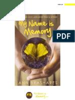 MY NAME IS MEMORY - Ann Brashares.pdf