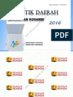 Statistik Daerah Kecamatan Kosambi 2016