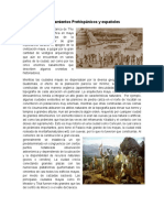 Asentamientos Prehispánicos y Españoles