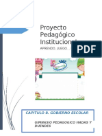 Capitulo 8 Gobierno Escolar