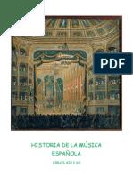 U8 HISTORIA DE LA M+ÜSICA ESPA+æOLA XIX XX