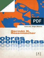 Germán Rozenmacher - Obras Completas