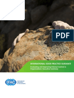 Executive Summary Evaluating and Improving Internal Control in Organizations