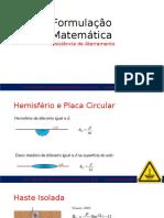 Formulação Matemática - Aterramentos