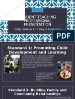 student teaching professional presentation