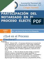 Not Aria Do Proceso Electoral