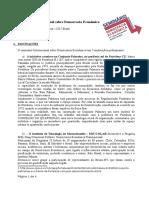 Seminario Internacional Sobre Democracia Economica