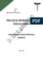 Pharma Dosage