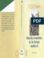 Pounds, N - Historia Economica de La Europa Medieval (1974)