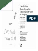 2008 - Estatistica Teoria e Aplicacoes Usando o Microsoft-Excel em-Portugues.pdf