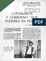 Tupamaros y Gobierno, Dos Poderes en Pugna