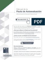 Manual Pauta Autoeval 2016