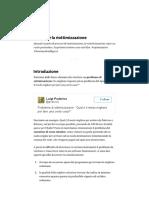 Che Cos'è La Riottimizzazione – Luigi Poderico – Medium