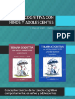 Terapia Cognitiva Con Niños y Adolescentes