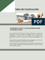 Materiales de Construcción Clase 1