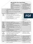 copyright and fair use cheat sheet