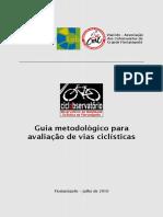 Guia Metodológico de Avaliação de Vias Ciclísticas -  ViaCiclo