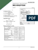 IGBT Module MG100Q2YS50. PDF