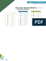 Ginecologia - Banco de Preguntas 3 - Claves