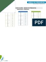 Ginecologia - Banco de Preguntas 2 - Claves