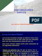 CURVAS CIRCULARES