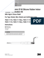 3M™ Cold Shrink QT-III Silicone Rubber Indoor