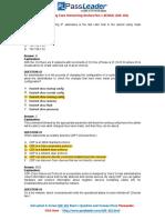 Pass Cisco 100-101 Exam With Passleader Free Materials (41-60)