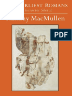 Prof. Ramsay MacMullen The Earliest Romans A Character Sketch  2011.pdf