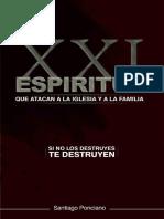 21 Espiritus que atacan a la Iglesia y la familia