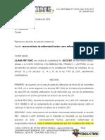 Derecho de Peticion INSISTENCIA Liliana REY