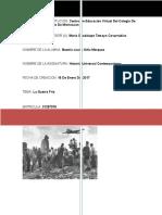 Historia Universal Contemparanea