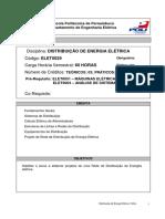 Bl 10 - Prog. Distribuicao de Energia Eletrica