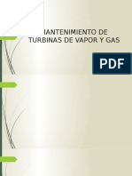 Mantenimiento de Turbinas de Vapor y Gas