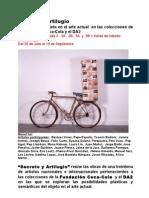 Dossier de prensa Exposición Secreto y Artilugio
