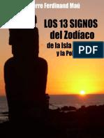 Los 13 Signos Del ZODIACO de La - Pierre F Mau