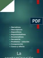 Ejercicio Tipos de Párrafos