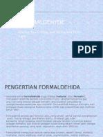 PPT Formaldehyde PIK2