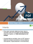Taller 2 - Equivalencias e Interes