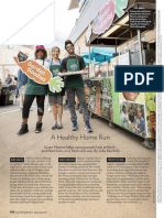 Roots for the Home Team,  Eating Well magazine