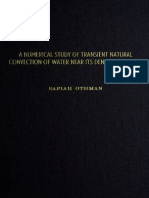 24 Pages From a Numerical Study of Transient Natural Convection of Water Near Its Density Extremum