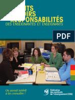 Droits Pouvoirs Et Responsabilites Des Enseignants