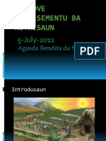 Aguida Bendita Da Silva Promoting Knowledge of Nutrition (Tetum)