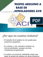 Arduino en Atmega