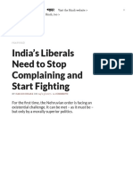 India's Liberals Need to Stop Complaining and Start Fighting